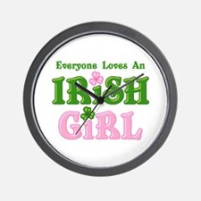 Loves An Irish Girl Wall Clock