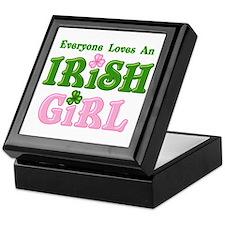 Loves An Irish Girl Keepsake Box