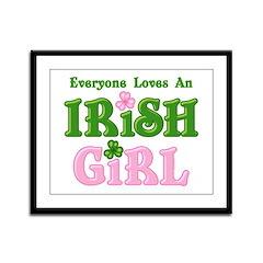 Loves An Irish Girl Framed Panel Print