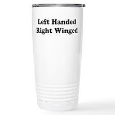 Left Handed Travel Mug