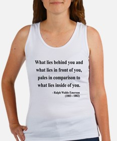 Ralph Waldo Emerson 11 Women's Tank Top