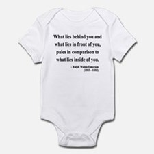Ralph Waldo Emerson 11 Infant Bodysuit
