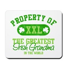 Property of Irish Grandma Mousepad