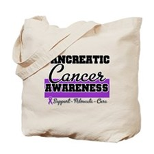 Pancreatic Cancer Tote Bag