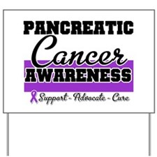 Pancreatic Cancer Yard Sign