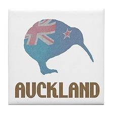 Auckland New Zealand Kiwi Tile Coaster