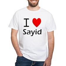 I Love Sayid Shirt