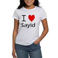 I Love Sayid Tee
