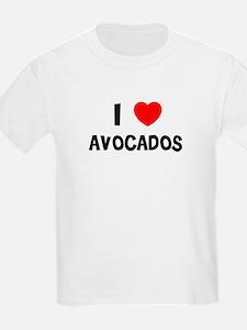 I LOVE AVOCADOS Kids T-Shirt