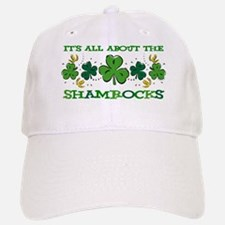About The Shamrocks Baseball Baseball Cap