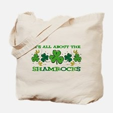 About The Shamrocks Tote Bag
