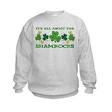 About The Shamrocks Sweatshirt