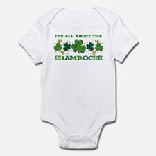 About The Shamrocks Infant Bodysuit