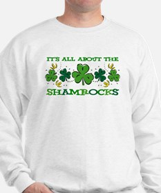 About The Shamrocks Sweatshirt