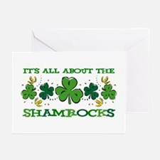 About The Shamrocks Greeting Cards (Pk of 10)
