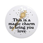 Magic Charm Ornament (Round)