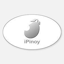 iPinoy Oval Decal