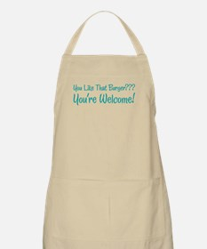 You're Welcome BBQ Apron