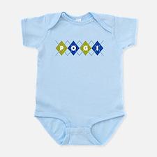 Argyle Pogi Infant Bodysuit