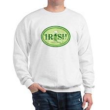 Green Irish Beer Sweatshirt