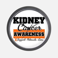 Kidney Cancer Wall Clock