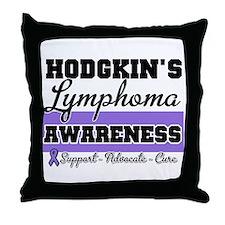 Hodgkin's Lymphoma Throw Pillow
