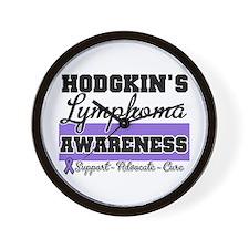 Hodgkin's Lymphoma Wall Clock