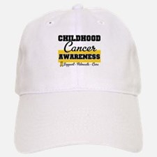 Childhood Cancer Baseball Baseball Cap