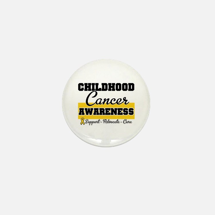 Childhood Cancer Mini Button (10 pack)