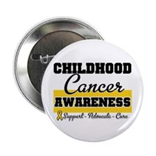 "Childhood Cancer 2.25"" Button"