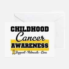 Childhood Cancer Greeting Card