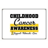 Childhood cancer awareness Banners