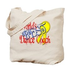 Worlds Best Dance Coach Award Tote Bag