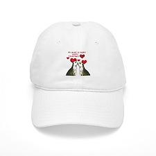 Meerkat Love Baseball Cap