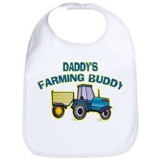 Daddy's Farming Buddy Bib
