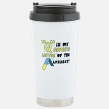 Dog Agility Q Stainless Steel Travel Mug