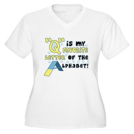 Dog Agility Q Women's Plus Size V-Neck T-Shirt