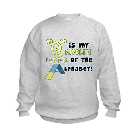 Dog Agility Q Kids Sweatshirt