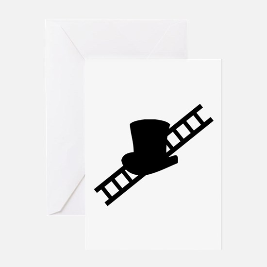 good luck chimney sweeper gea Greeting Card