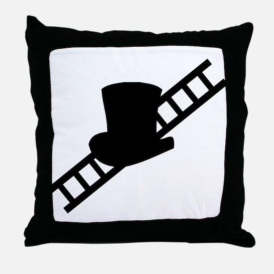 good luck chimney sweeper gea Throw Pillow