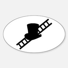 good luck chimney sweeper gea Oval Decal
