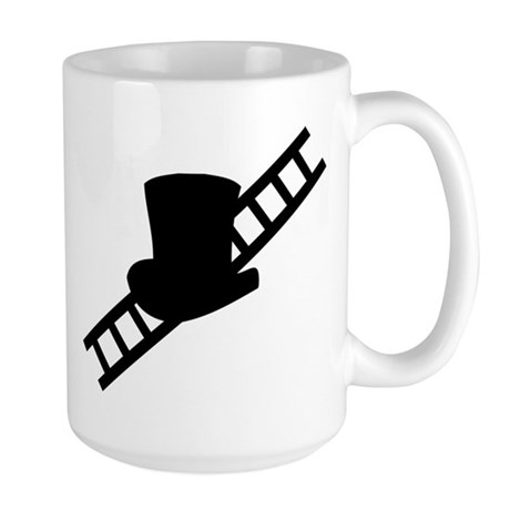 good luck chimney sweeper gea Large Mug