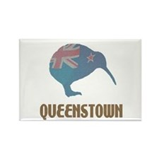 Queenstown New Zealand Rectangle Magnet