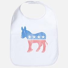 Democratic Donkey Bib