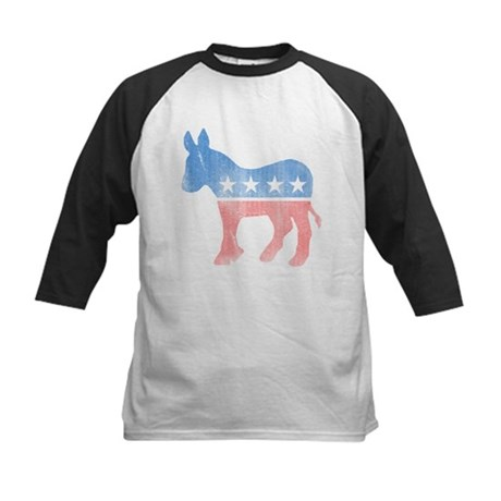Democratic Donkey Kids Baseball Jersey