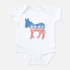 Democratic Donkey Infant Bodysuit