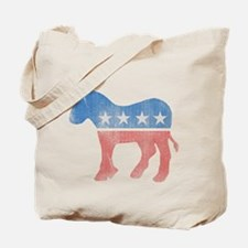 Democratic Donkey Tote Bag