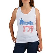 Democratic Donkey Women's Tank Top