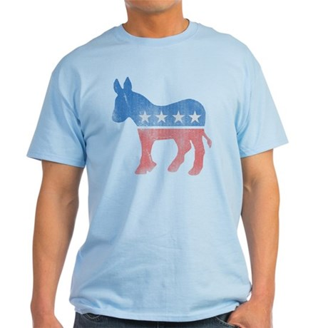 Democratic Donkey Light T-Shirt