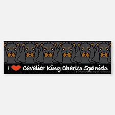 I Love CKCS Bumper Bumper Bumper Sticker